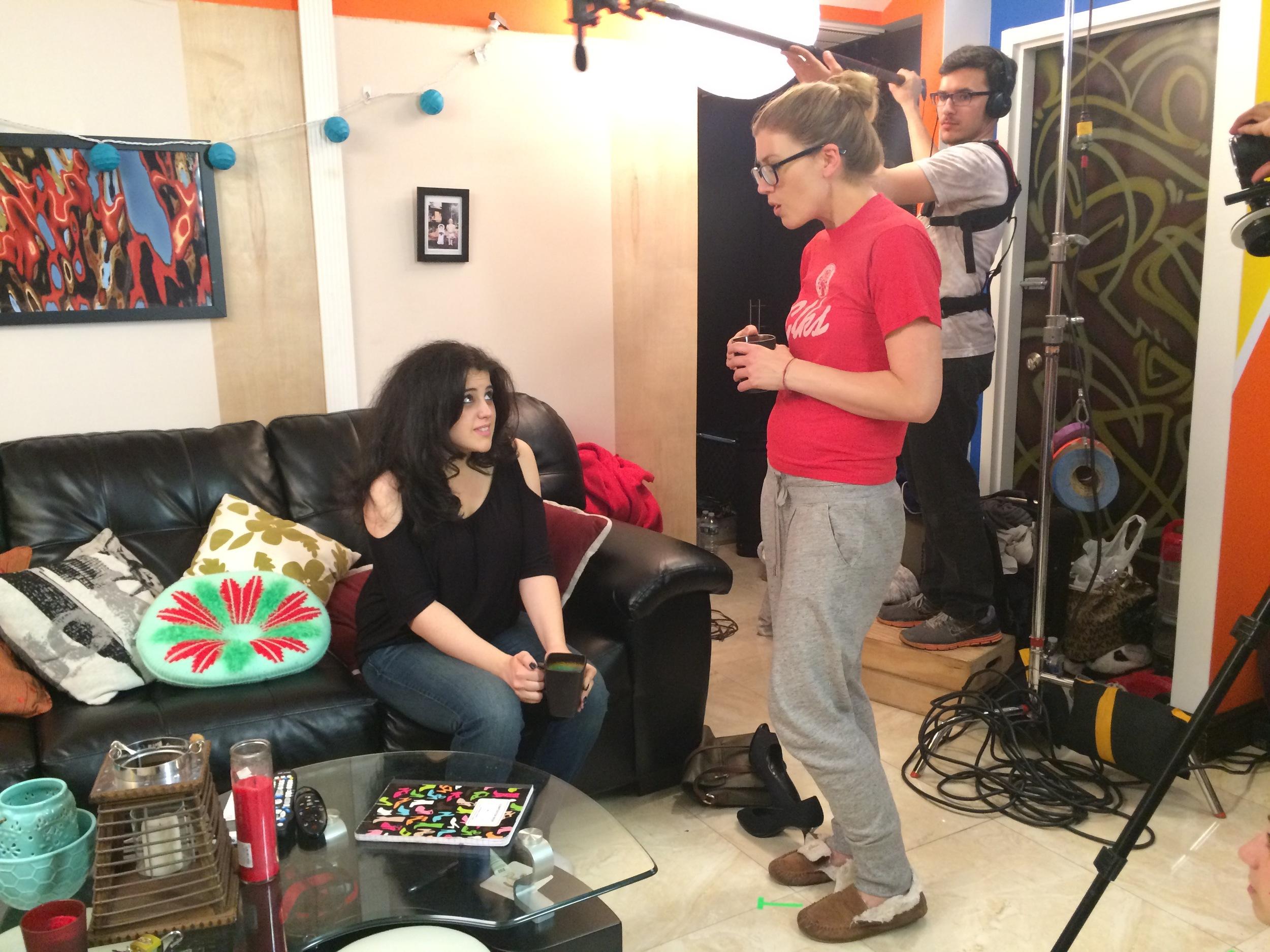 """Ally & Viv"" TV pilot - Dir./Written by Zerelda Rodriguez - NYC"