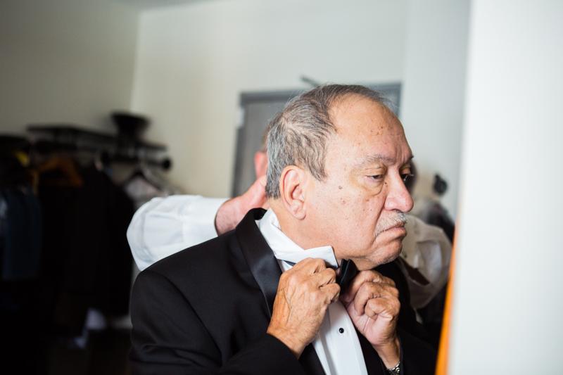 3 Getting ready photos Ace Hotel wedding