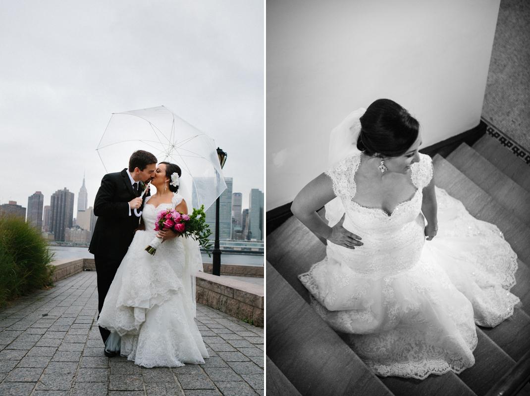 Wedding photos in Gantry Park