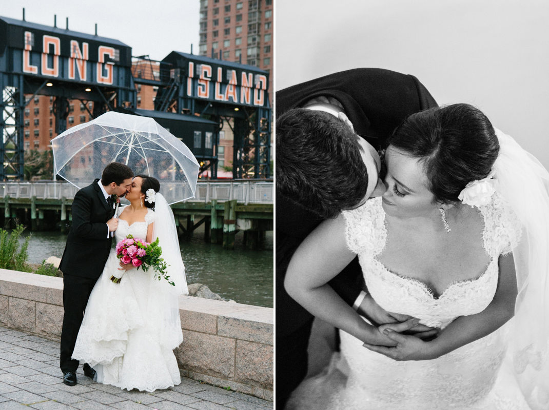 Wedding photos in Gantry Park LIC
