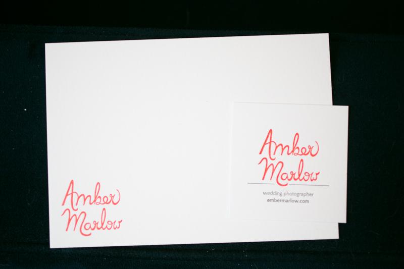 elopement photographer business cards