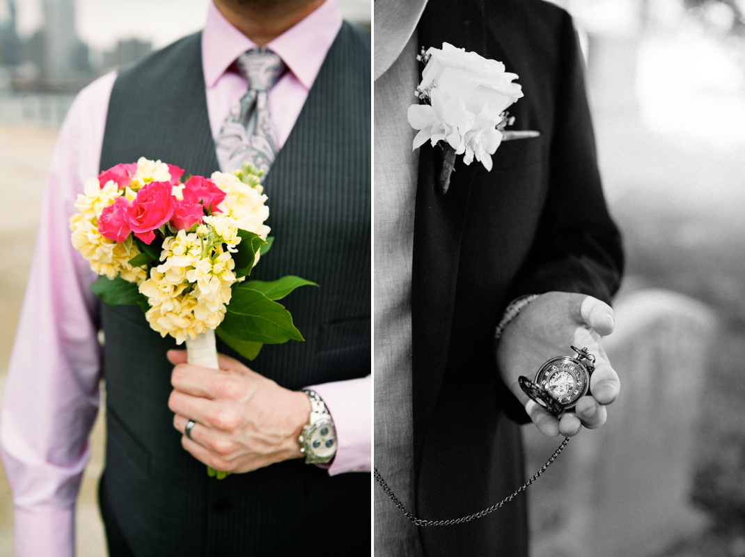 groom pocket watch