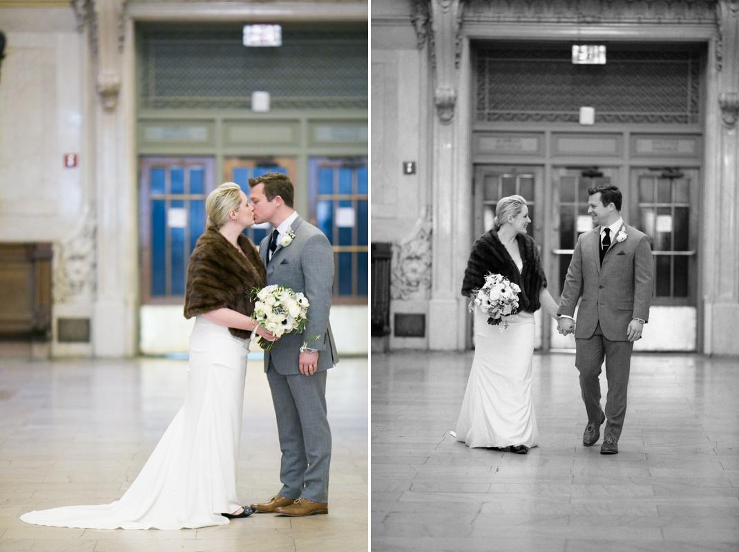 can I take wedding photos in Grand Central Terminal?