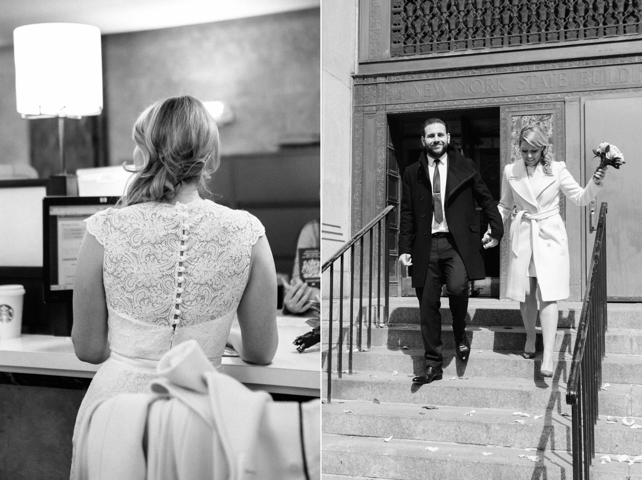 city hall manhattan wedding photos