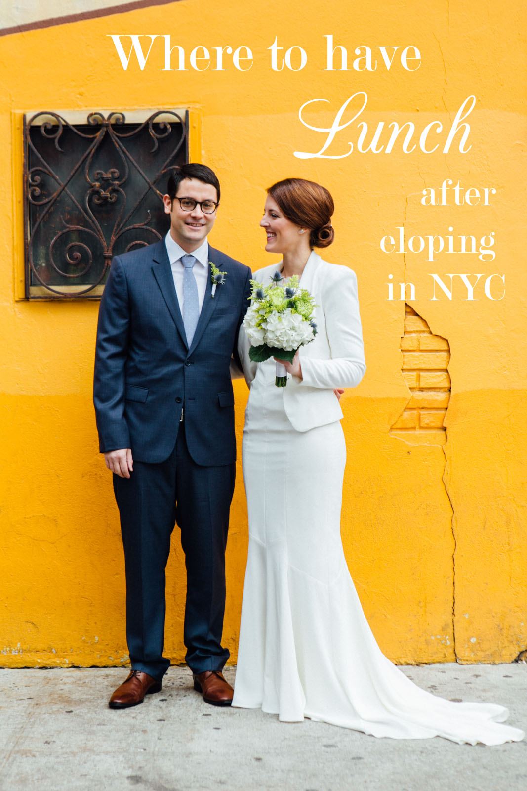 nyc elopement lunch spots