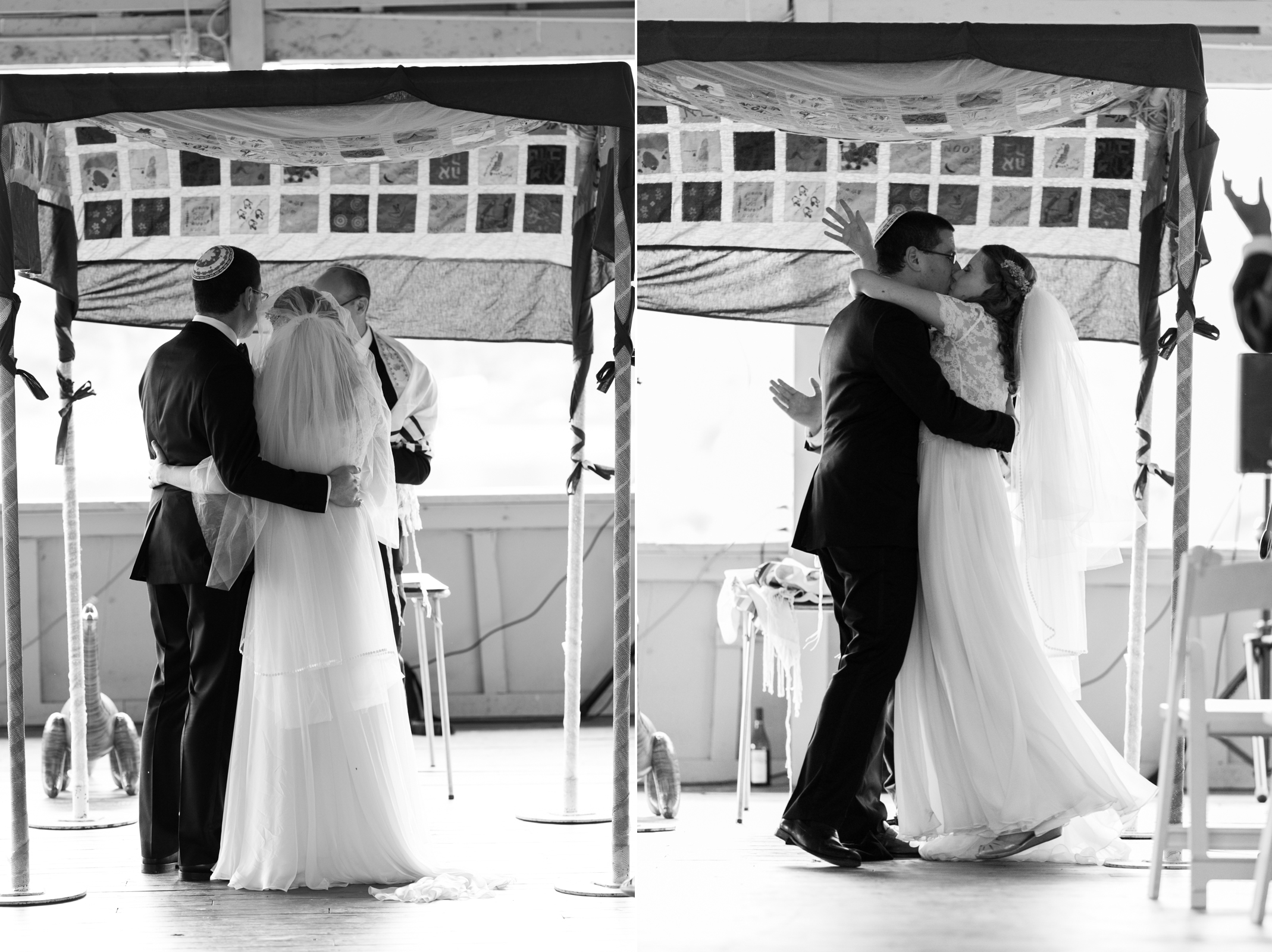 marriage and first kiss