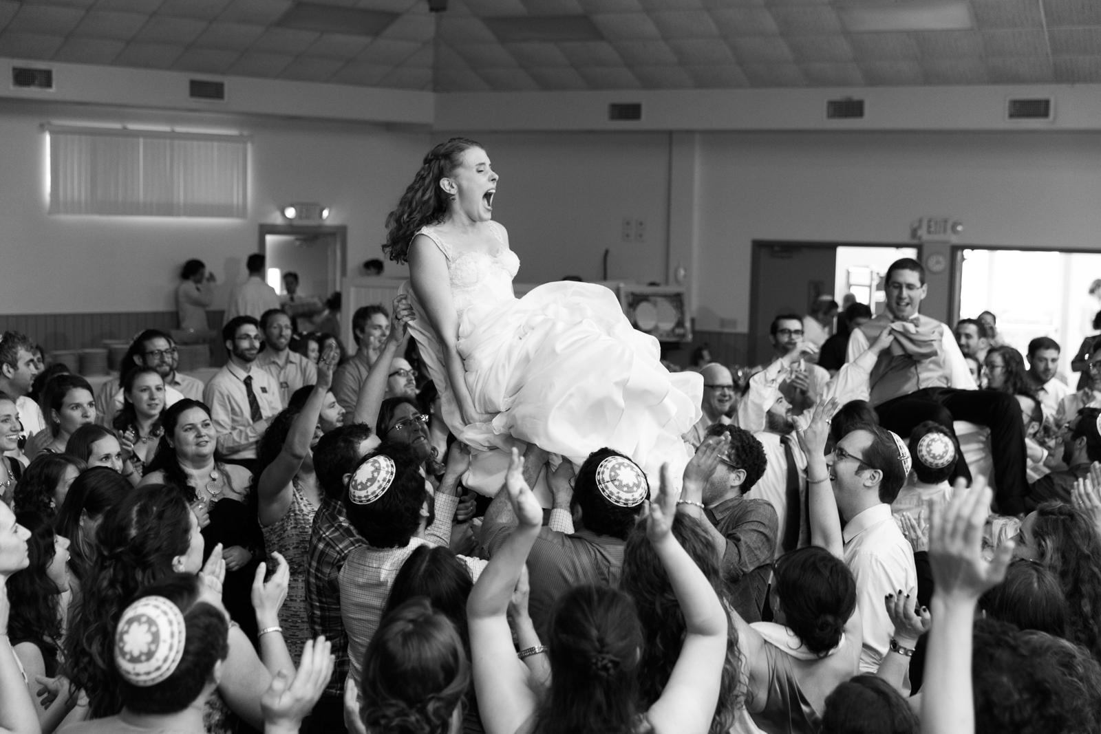 Jewish reception Hora