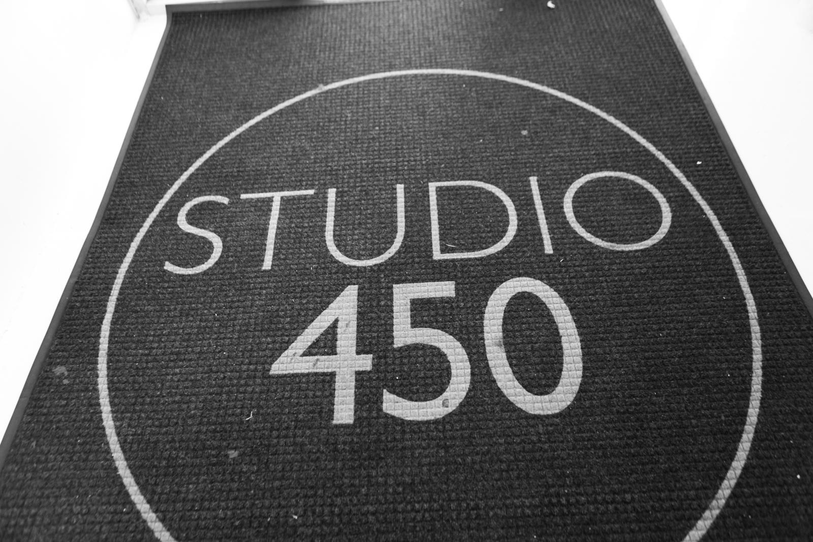 Studio 450 welcome mat
