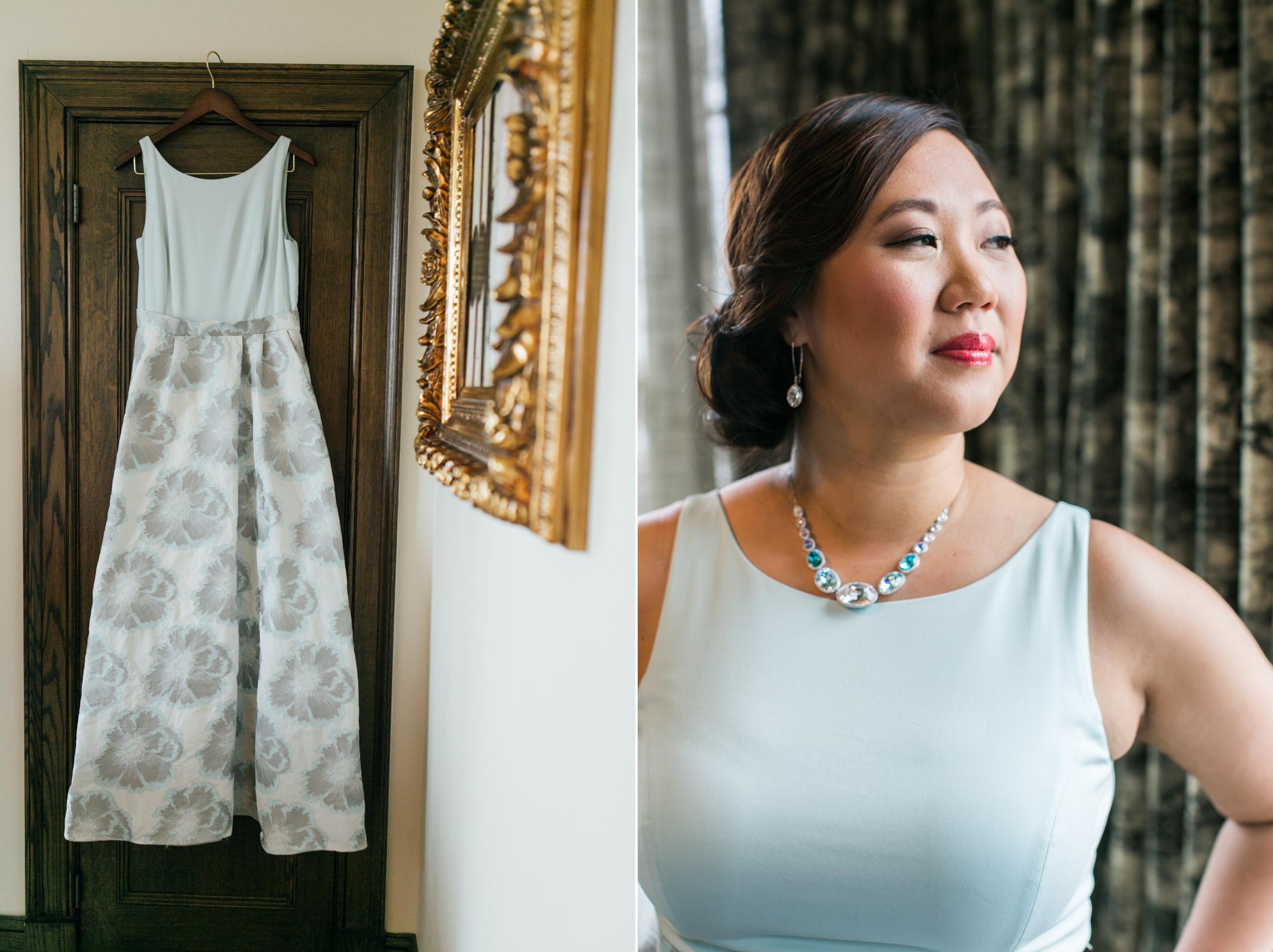 wedding dress & ready bride