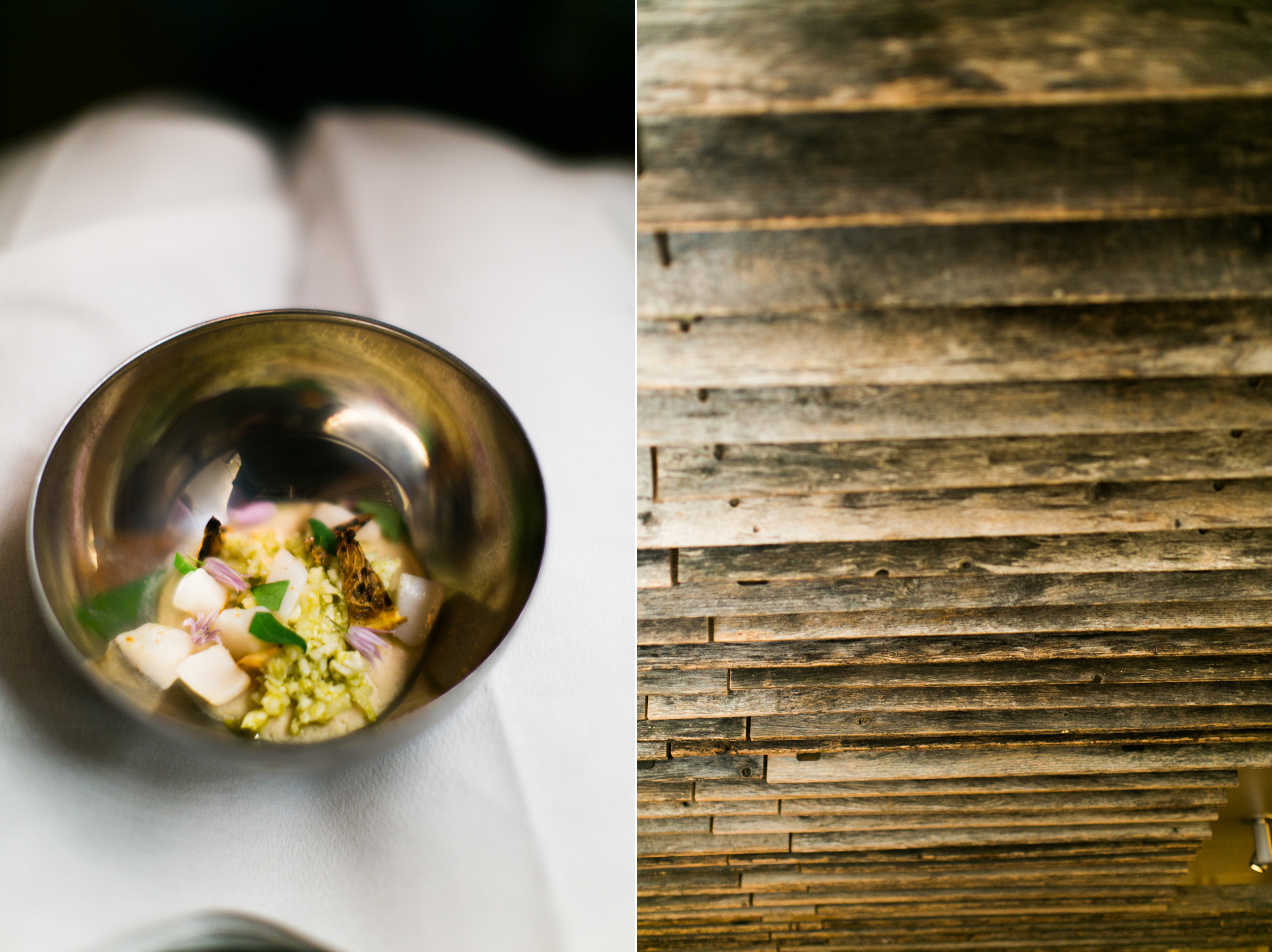 small food & cool wood