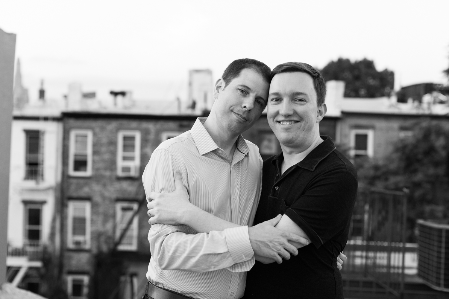 Park Slope engagement photos from Amber Marlow