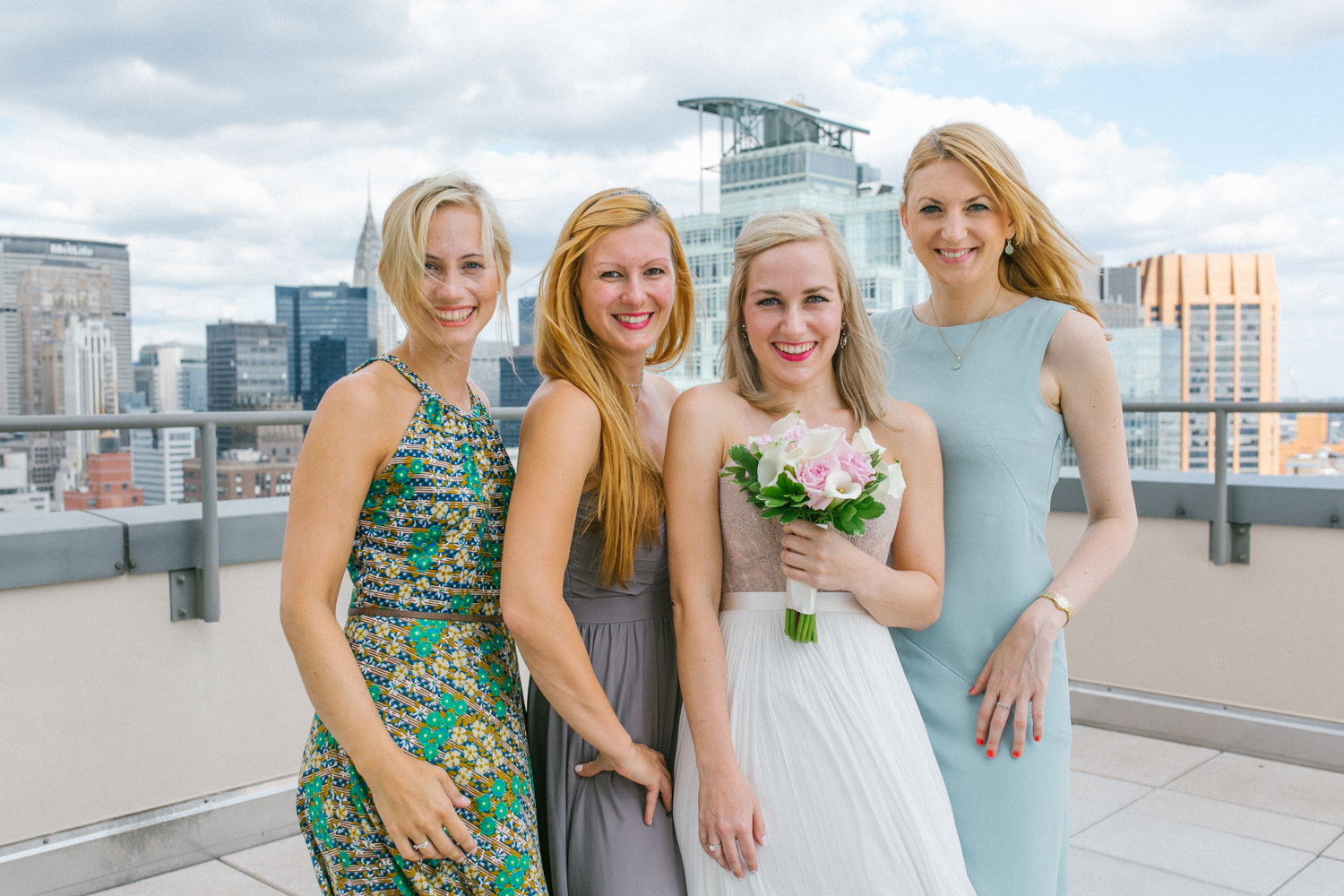 Mis-matched Bridesmaids