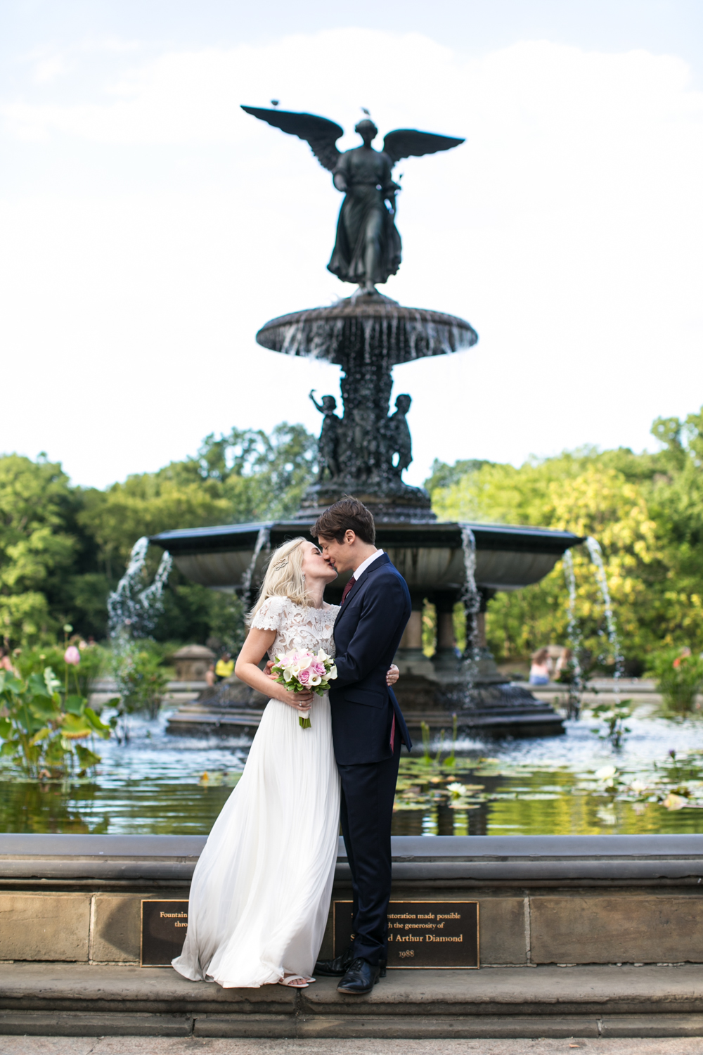 Central Park Intimate Wedding from Amber Marlow
