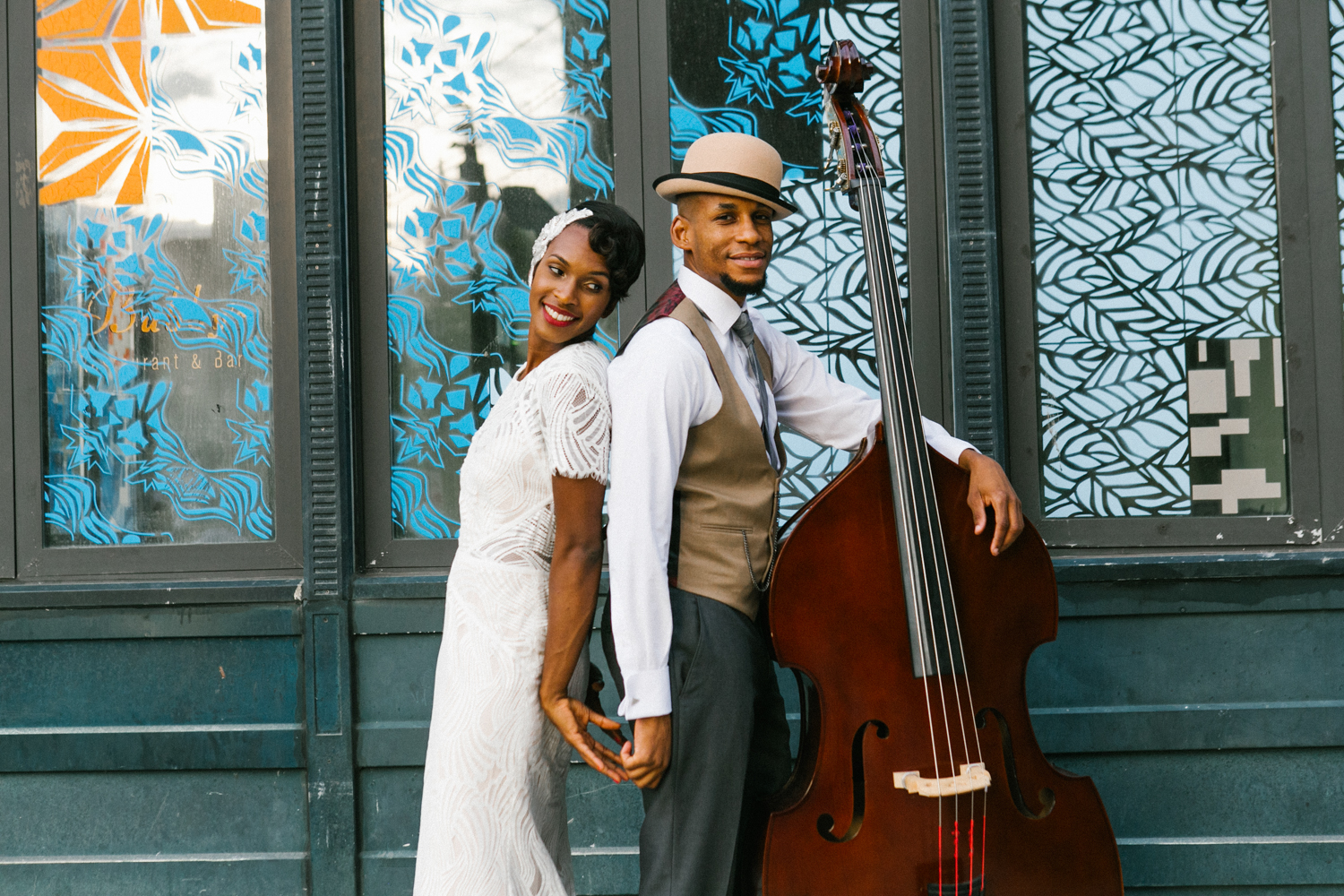 musical engagement photos in Brooklyn