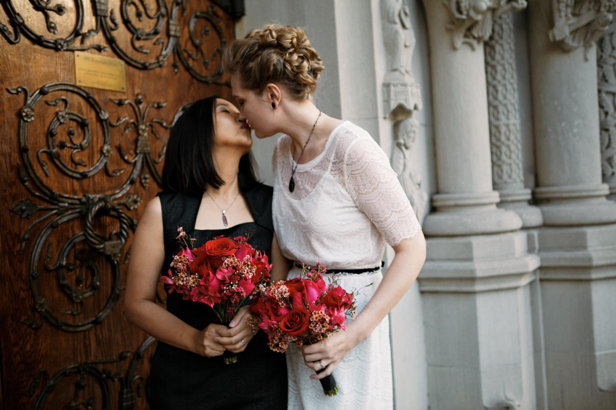 Riverside Church Lesbian Wedding