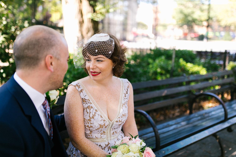 Carroll Gardens elopement