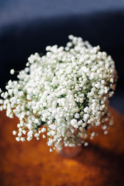 Winter elopement bouquet