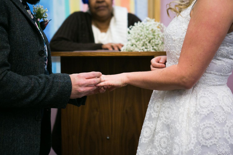 Marriage bureau elopement in NYC