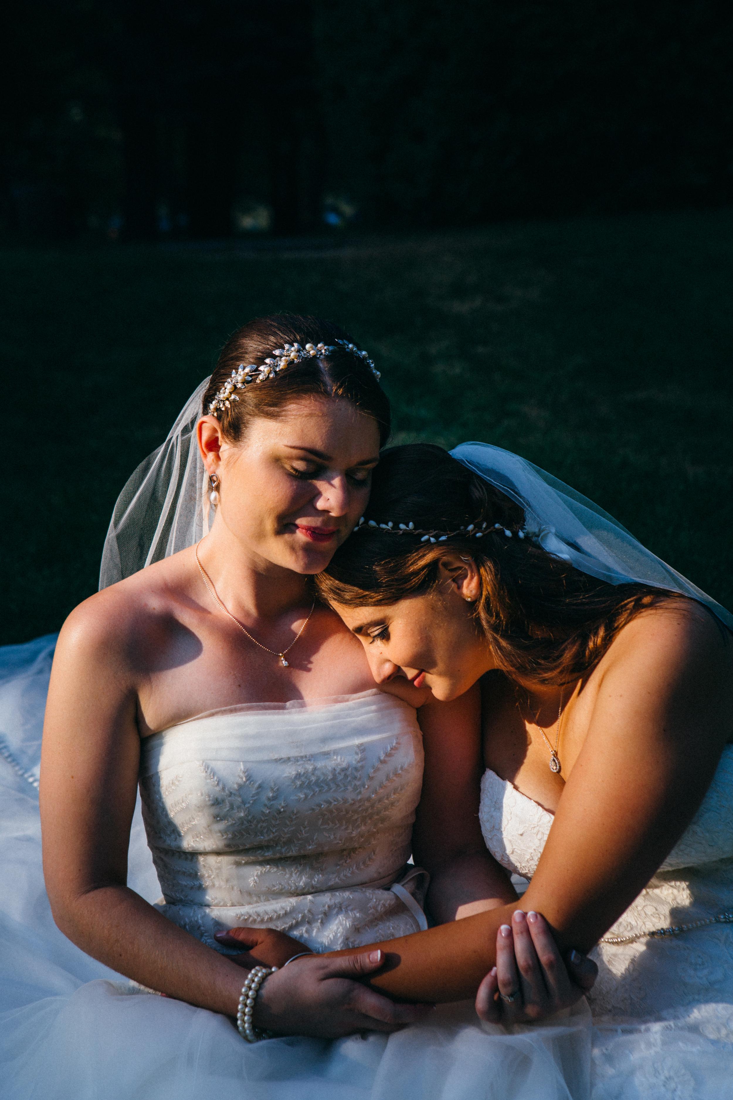 Classic Lesbian Wedding
