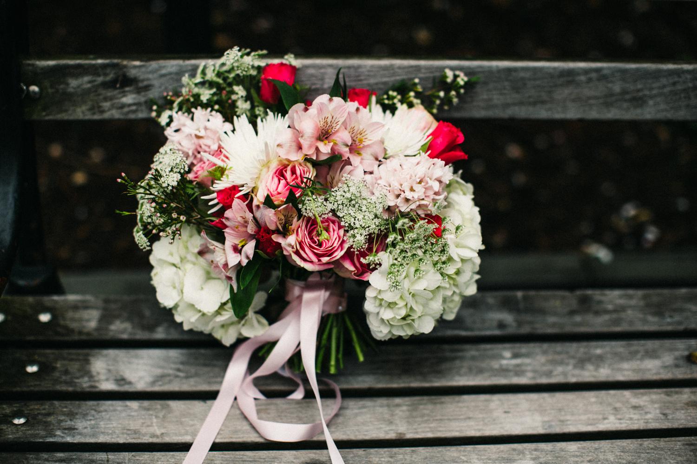 Michelle Edgemont Elopement Bouquet