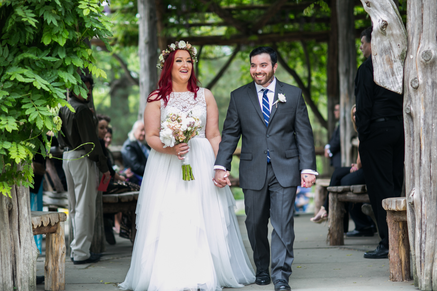 Intimate Wedding in Central Park's Cop Cot