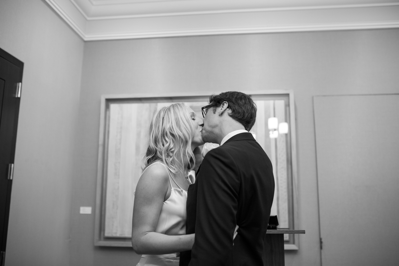 City Hall Wedding in Manhattan