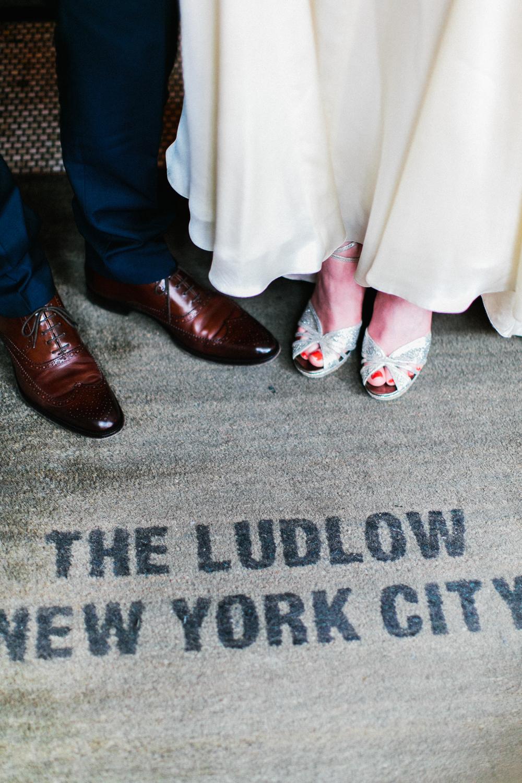 The Ludlow Hotel Wedding NYC