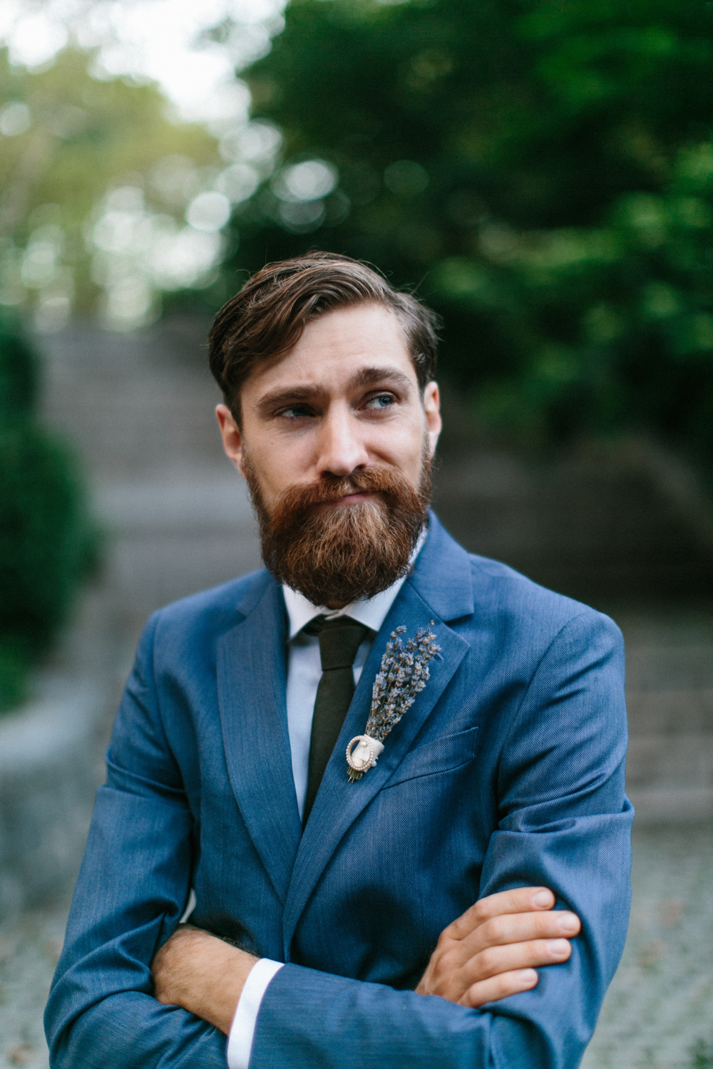 Groom portrait NYC