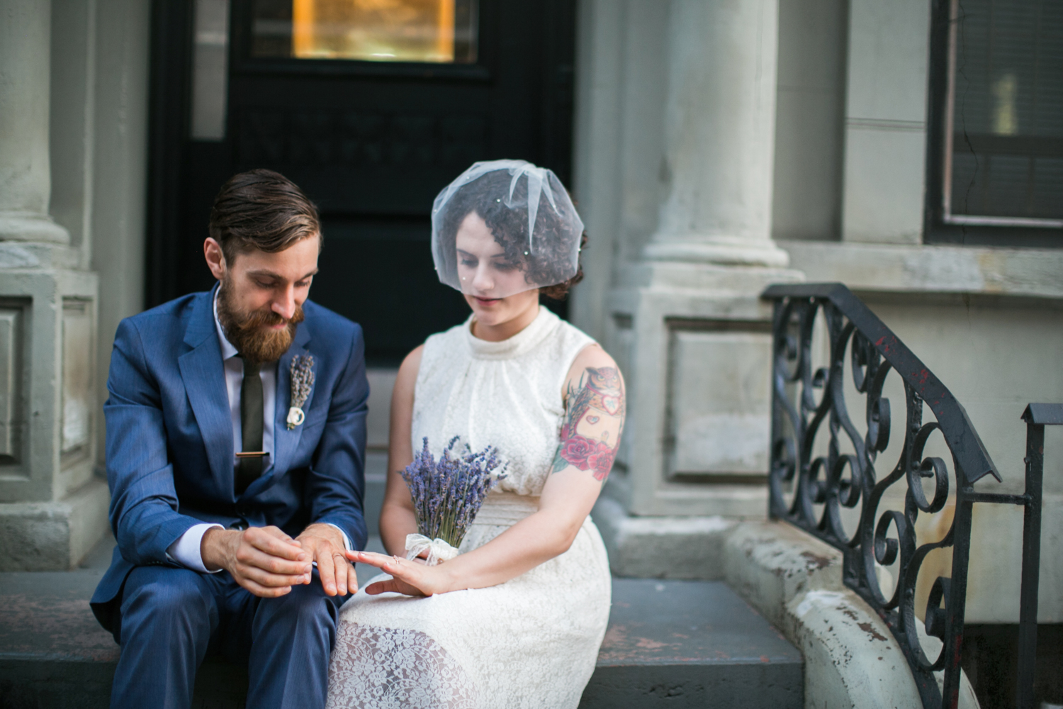 New York City elopement photos - upper west side