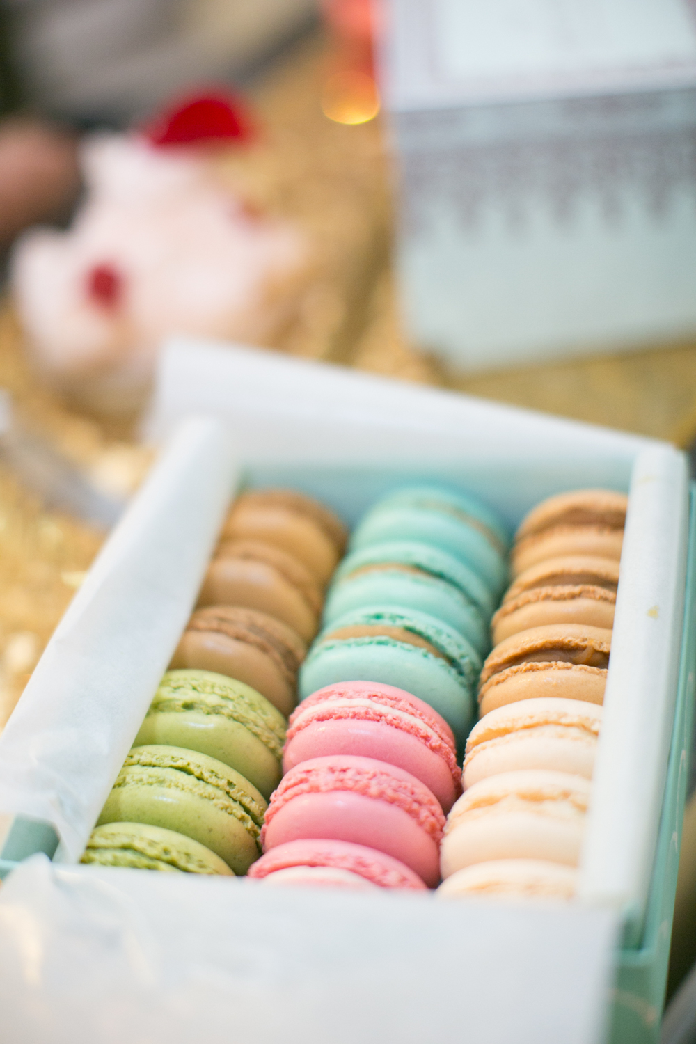 Wedding macarons from laduree