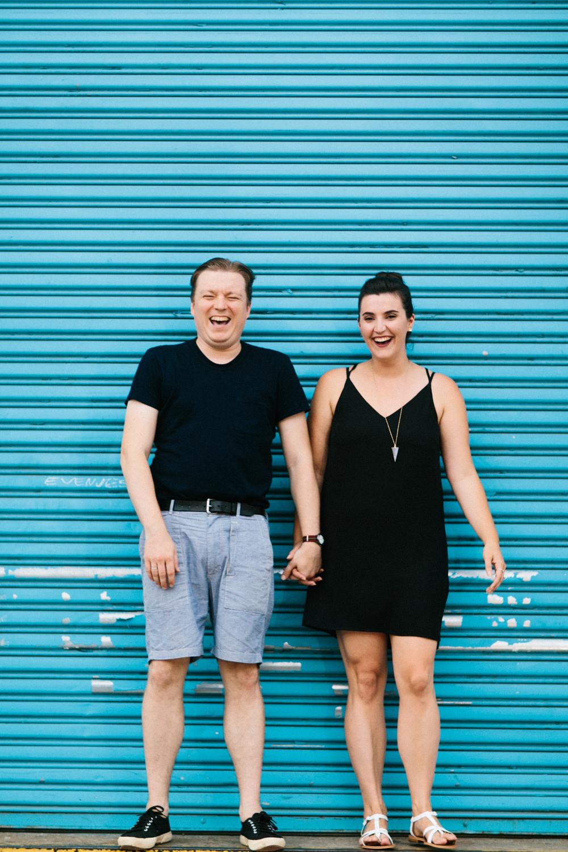 Engagement Photos around Park Slope