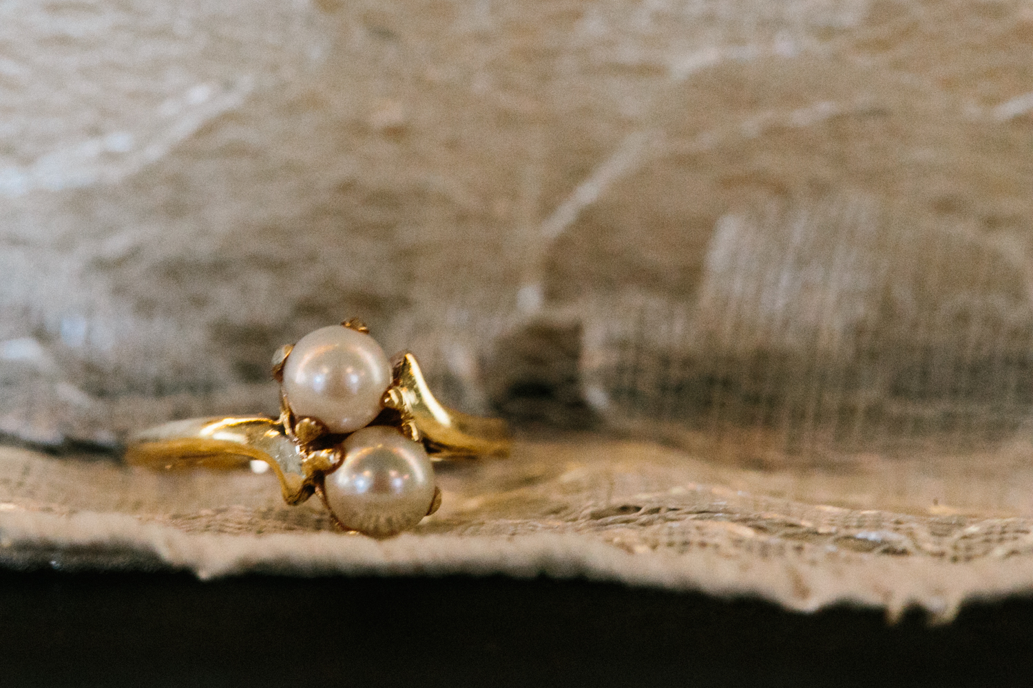 Bride's Grandmother's Pearl Ring