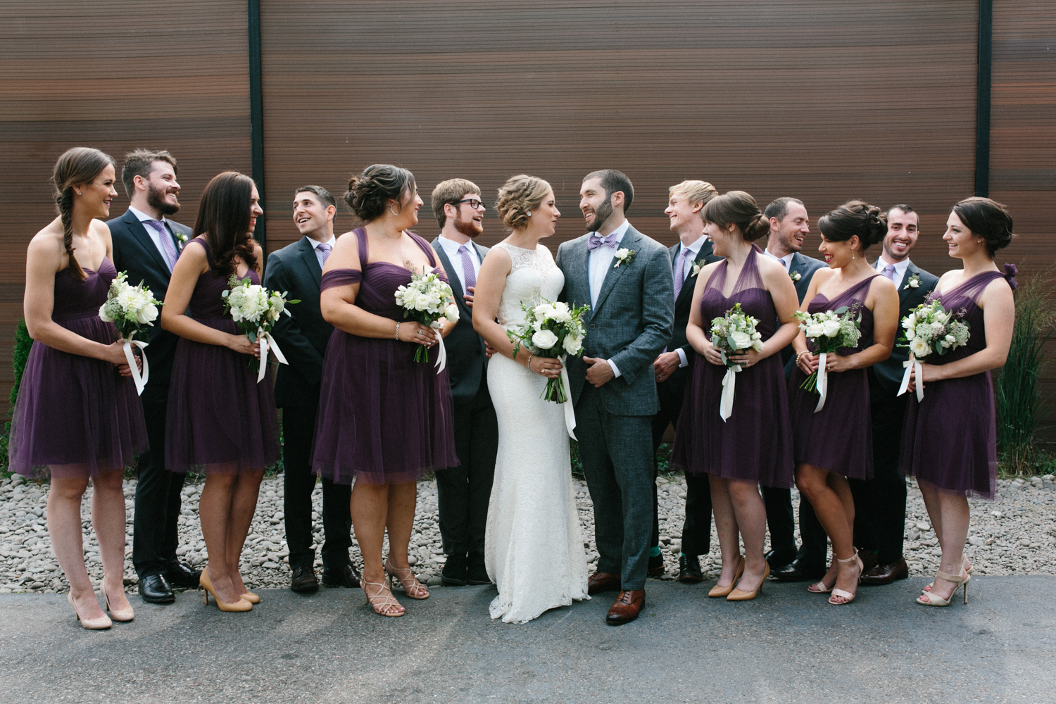 Green Building Wedding Photos Brooklyn