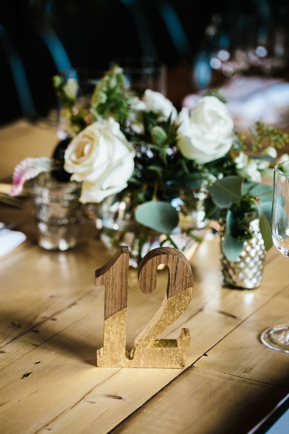 Brooklyn Green Building Wedding Decor