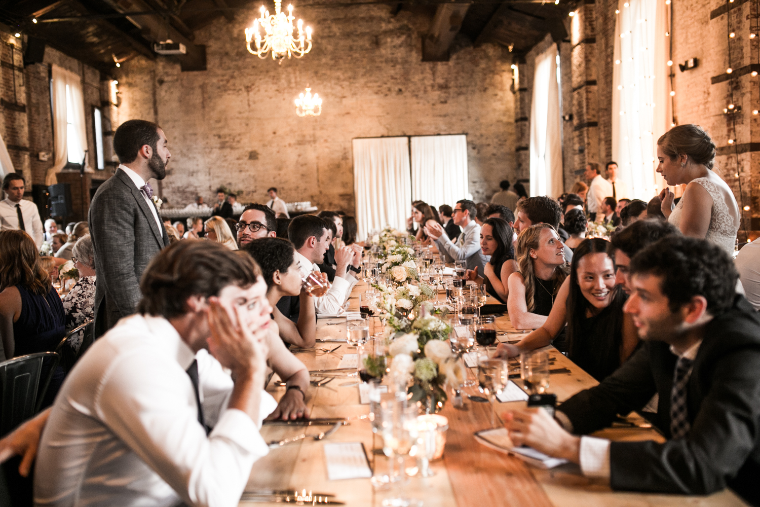 Green Building Brooklyn Wedding
