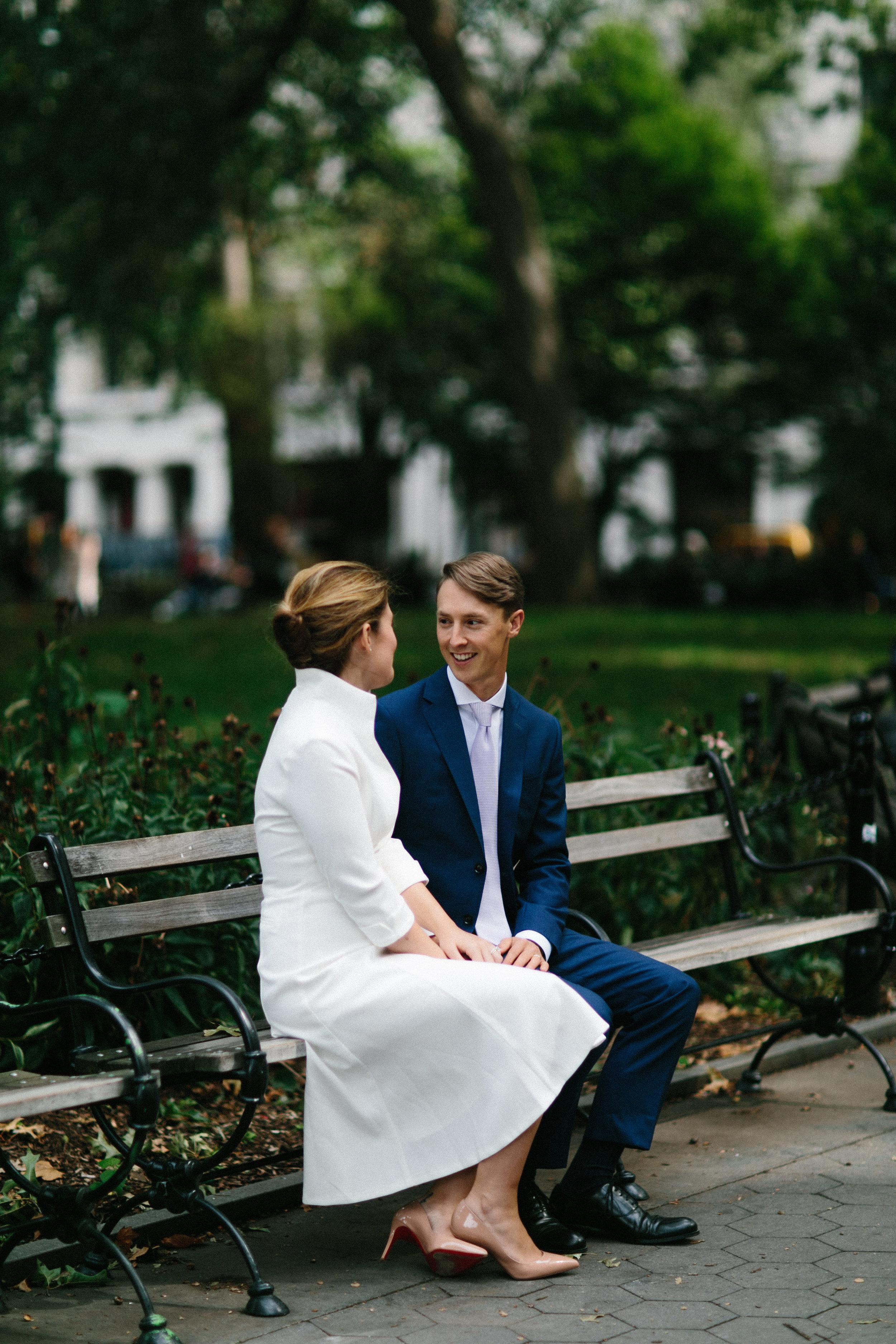 Washington Square Park Wedding