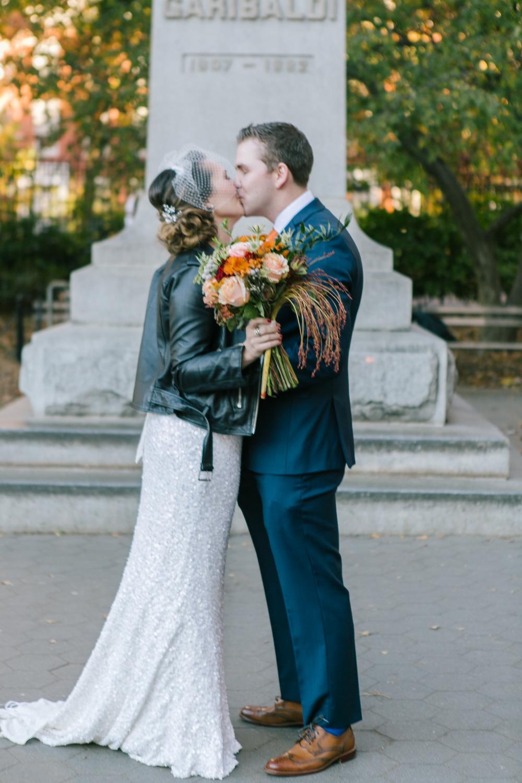 Washington Square Park NYC Wedding Photos