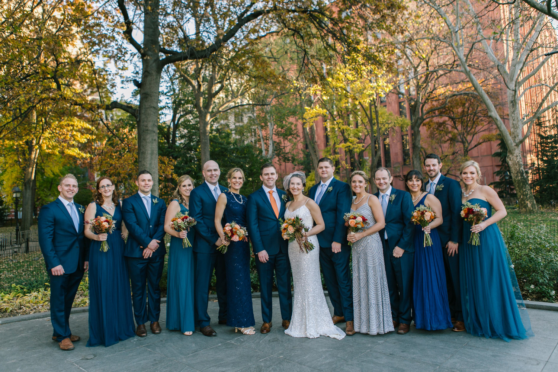 Washington Square Park Bridal Photos