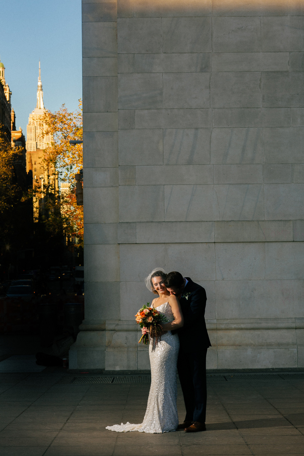 Washington Square Park Wedding Photos