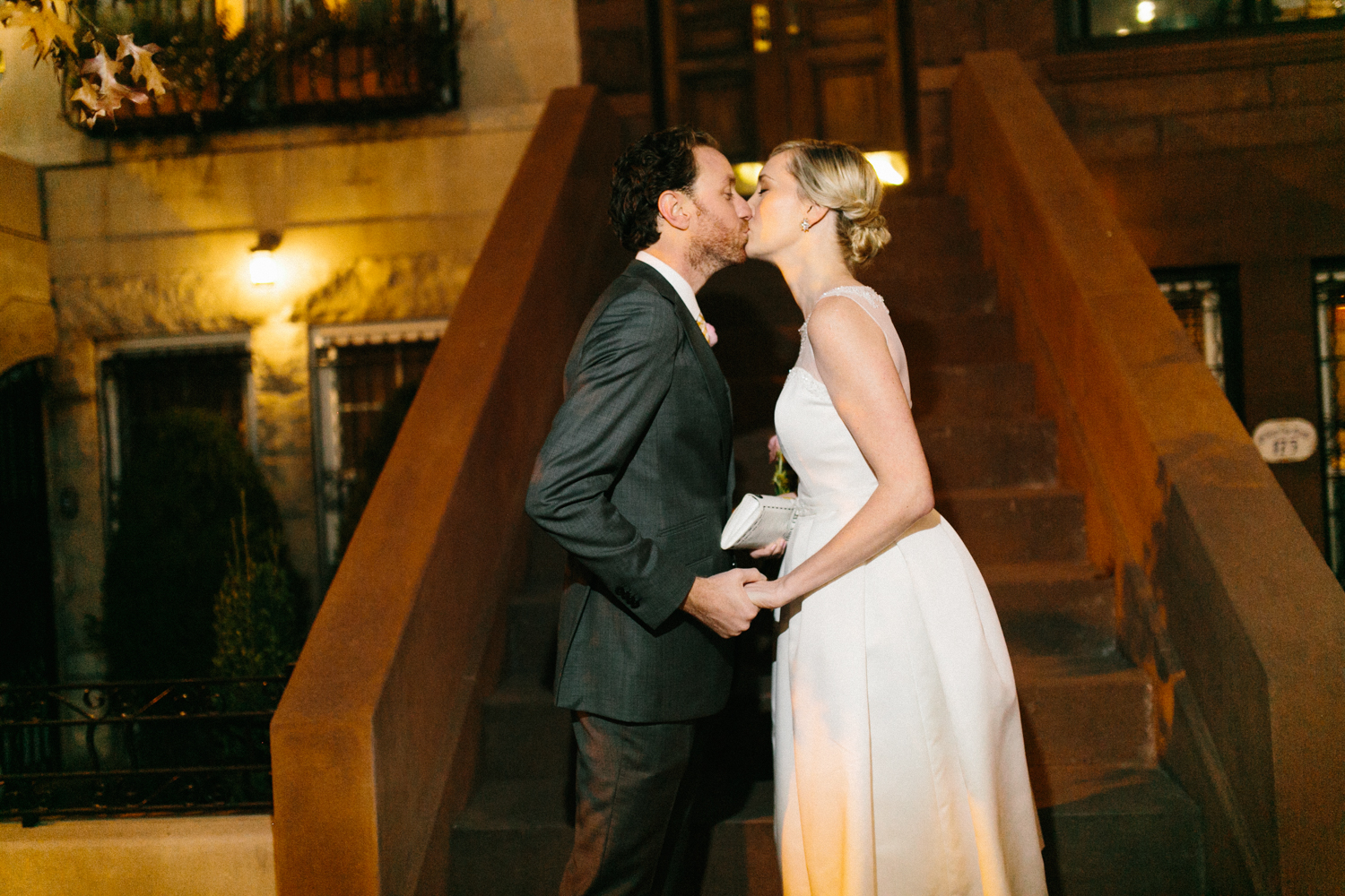 Upper East Side Wedding First Look