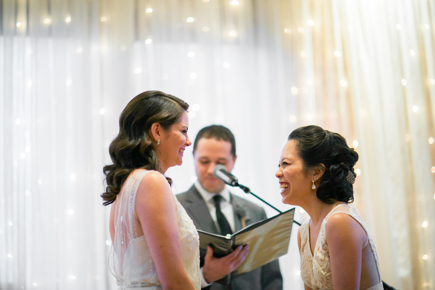 Lesbian wedding in Brooklyn | photographed by Amber Marlow, NYC