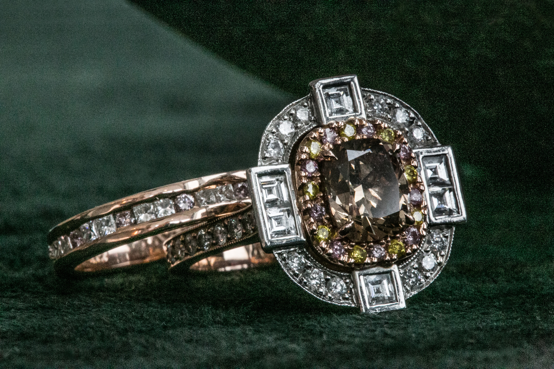 Lewis Joallier custom engagement ring