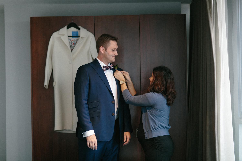 Black tie elopement NYC