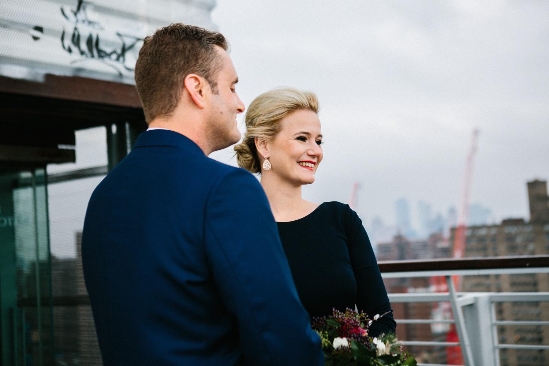 elopement in New York City phots