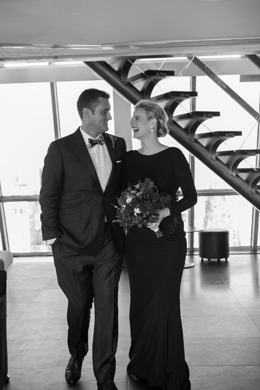 Black tie elopement photographer Manhattan