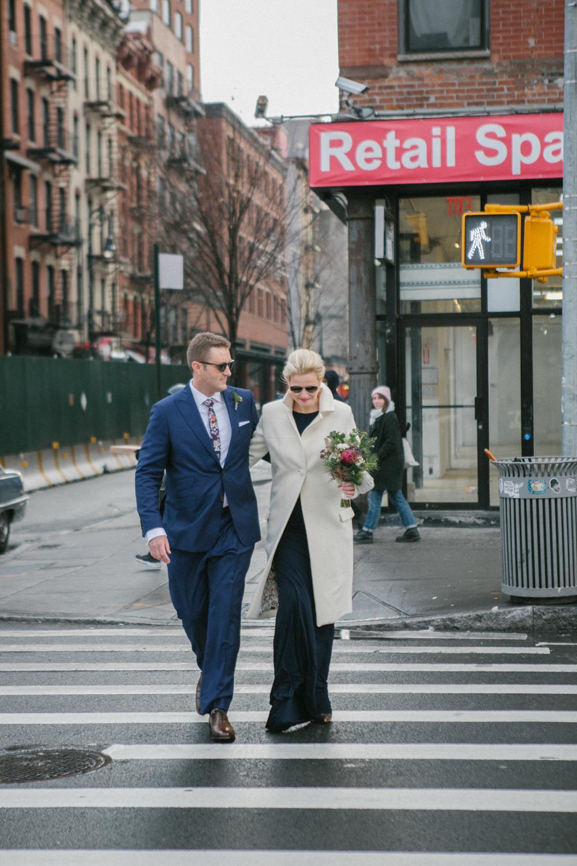 Manhattan Elopement photos
