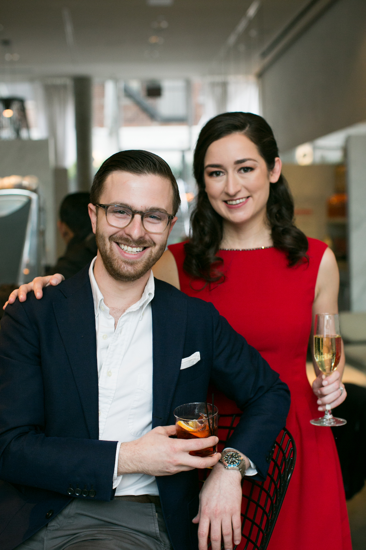 Cocktail Engagement Photos