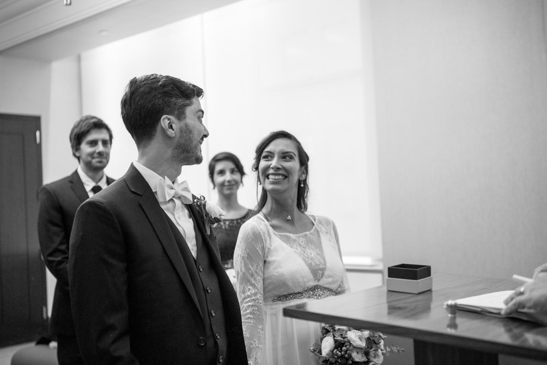Manhattan Marriage Bureau Wedding Ceremony Photos