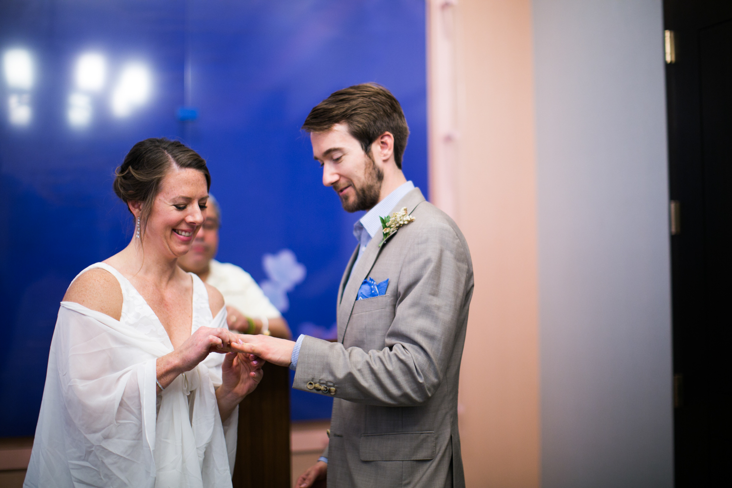 Elopement ceremony in NYC