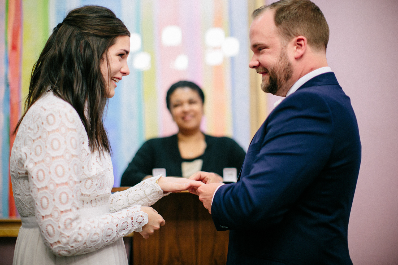 elopement exchange of rings